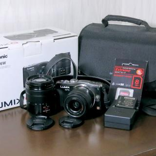 パナソニック(Panasonic)のLumix DMC-GF6W(ミラーレス一眼)
