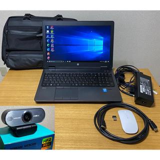 HP - Zoom49画面OK‼️ HP ZBook 15 i7 16G 128G+1TB