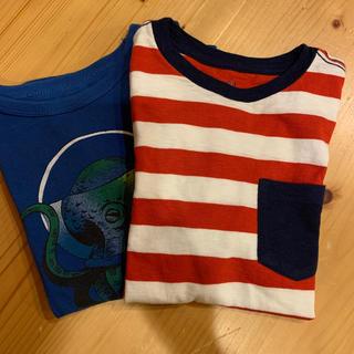 ギャップキッズ(GAP Kids)のTシャツ GAP KIDS S(6〜7) 120シャツ2枚組(Tシャツ/カットソー)