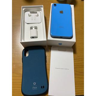 アイフォーン(iPhone)のiPhone XR 128GB SIMフリー バッテリー100%(スマートフォン本体)