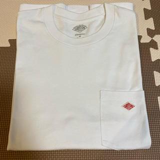 ダントン(DANTON)のダントン  Tシャツ 半袖 ホワイト 胸ポケット有り 40(Tシャツ/カットソー(半袖/袖なし))