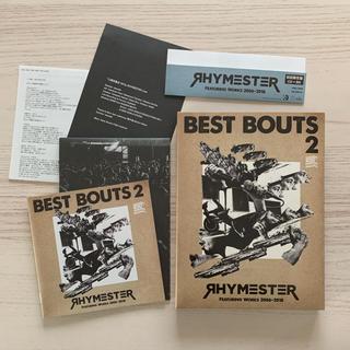 美品送料込 ベストバウト 2 RHYMESTER Featuring Works(ポップス/ロック(邦楽))