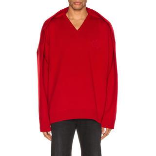 バレンシアガ(Balenciaga)のbalenciaga vネック sweater セーター(ニット/セーター)
