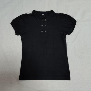 ムジルシリョウヒン(MUJI (無印良品))の◆無印良品◆黒ポロシャツ(ポロシャツ)