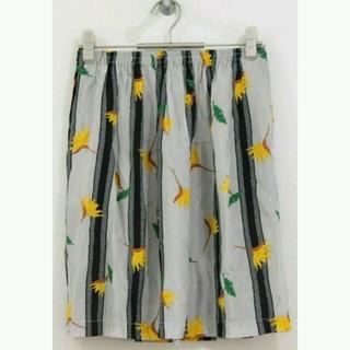 デミルクスビームス(Demi-Luxe BEAMS)のデミルクスビームス 花がらスカート(ひざ丈スカート)