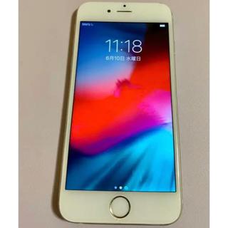 アップル(Apple)のiPhone6 Silver 64GB SoftBank(スマートフォン本体)