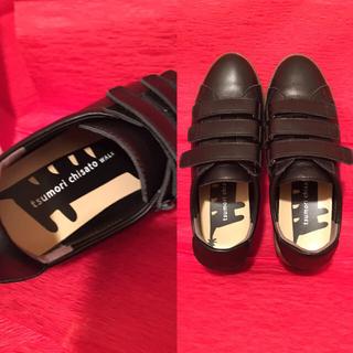 ツモリチサト(TSUMORI CHISATO)のツモリチサトウォーク スニーカー 23.5 ツモリチサト 靴 ネコ(スニーカー)