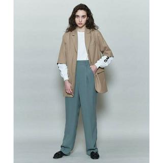 BEAUTY&YOUTH UNITED ARROWS - roku georgette tuck pants