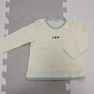 ファミリア(familiar)のfamiliar 長袖カットソー サイズ80(シャツ/カットソー)
