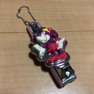 ディズニー(Disney)の【新品・未使用】ミニーマウス 貝印 爪切り おまけのバルーン付き(ネイルケア)