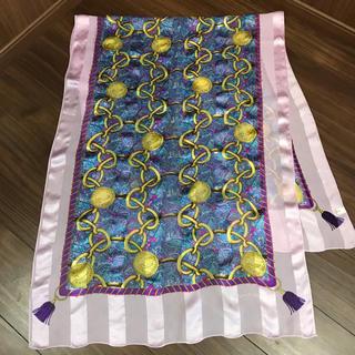 ランセル(LANCEL)のLANCEL ロング シルクストール スカーフ(バンダナ/スカーフ)