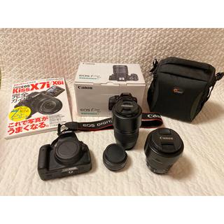 Canon - 【美品】キャノン EOS kiss X7i レンズ3本+おまけ多数【即日発送】