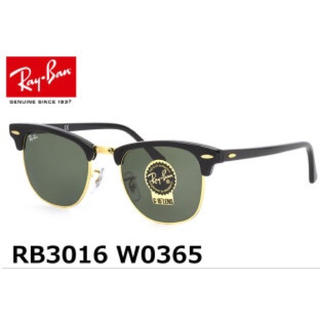 レイバン(Ray-Ban)の【美品】RayBan/レイバン クラブマスター RB3016 w0365 49(サングラス/メガネ)