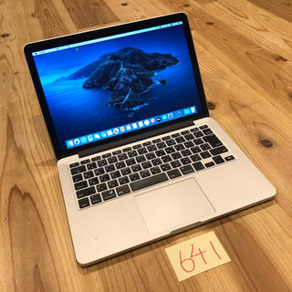 Mac (Apple) - 格安高スペ!MacBook pro retina 13インチ Late2013