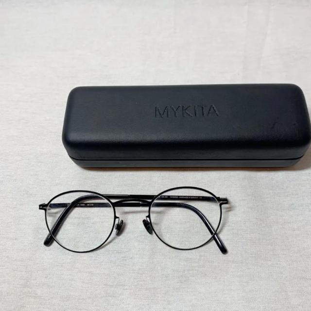 Ayame(アヤメ)のMYKITA TONA マイキータ ボストン 伊達眼鏡 メンズのファッション小物(サングラス/メガネ)の商品写真