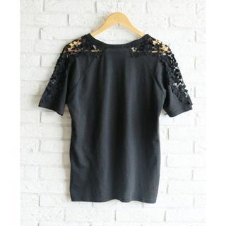 カワイイ(cawaii)の花モチーフレースのTシャツ cawaii(カットソー(半袖/袖なし))