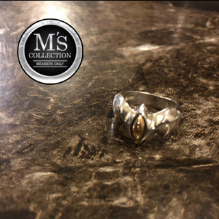 エムズコレクション(M's collection)のエムズコレクション m's collection 指輪 シルバー K18 18金(リング(指輪))