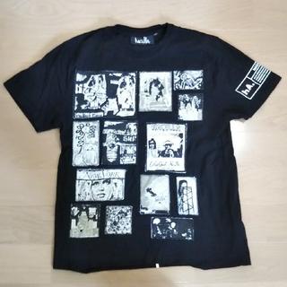hacullaハキュラ、パッチワークTシャツ(ミック恵比寿)(シャツ)