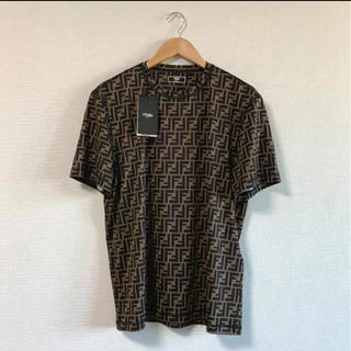 フェンディ(FENDI)の【未使用 タグ付き】FENDI フェンディ FFロゴTシャツ(Tシャツ/カットソー(半袖/袖なし))