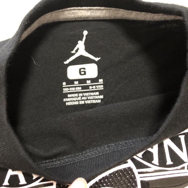 NIKE(ナイキ)のジョーダンTシャツ/サイズ120/新品未使用 キッズ/ベビー/マタニティのキッズ服男の子用(90cm~)(Tシャツ/カットソー)の商品写真