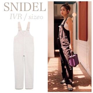 snidel - ストレートオーバーオール SNIDEL 紗栄子