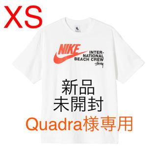 ナイキ(NIKE)のNIKE×STUSSY ビーチ Tシャツ ホワイト XS(Tシャツ/カットソー(半袖/袖なし))