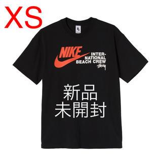 ナイキ(NIKE)のNIKE×STUSSY ビーチ Tシャツ ブラック XS(Tシャツ/カットソー(半袖/袖なし))