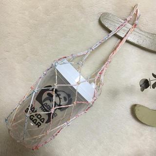 カップホルダー ドリンクホルダー ネットタイプ 台湾風 ハンドメイド 網