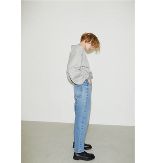 エンフォルド(ENFOLD)のナゴンスタンス modest jeans nagonstans ライトブルー(デニム/ジーンズ)