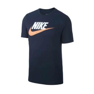 ナイキ(NIKE)のNIKE フューチュラ アイコンショートスリーブ Tシャツ ネイビー Mサイズ(Tシャツ/カットソー(半袖/袖なし))