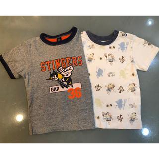 ベビーギャップ(babyGAP)のGAP PAPP 95㎝ Tシャツ 2枚 男の子(Tシャツ/カットソー)