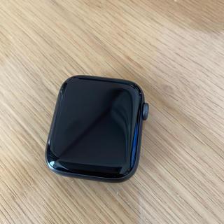 アップルウォッチ(Apple Watch)のApple Watch Series 4(GPSモデル)44mmスペースグレイ(腕時計(デジタル))