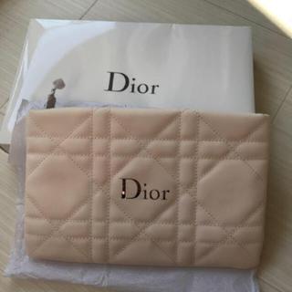Dior - ディオール Dior ポーチ ホワイト ノベルティ 非売品 完売 ロゴ 新品 箱