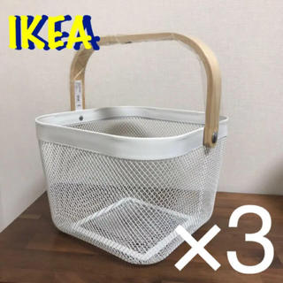 IKEA - 新品 IKEA  バスケット かご 3個セット