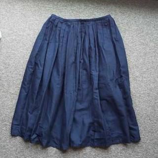 ムジルシリョウヒン(MUJI (無印良品))の無印良品   フレアースカート(ひざ丈スカート)