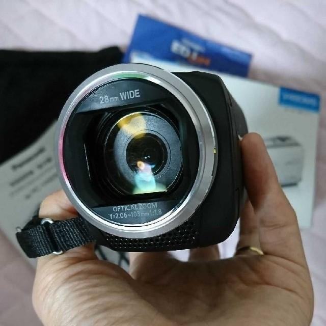 Panasonic(パナソニック)のPanasonic HC-V480MS スマホ/家電/カメラのカメラ(ビデオカメラ)の商品写真