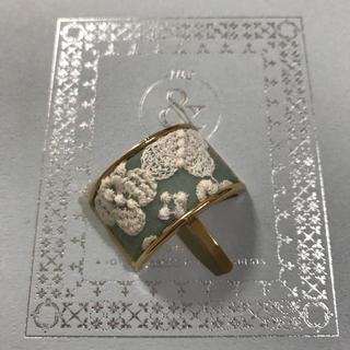 ミナペルホネン(mina perhonen)のミナペルホネン   ⭐ flower cake ⭐ ハンドメイド ヘアフック(ヘアアクセサリー)