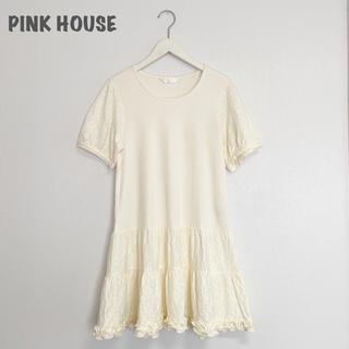 ピンクハウス(PINK HOUSE)の【PINK HOUSE】花柄チュニックワンピース ピンクハウス(チュニック)