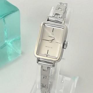 オメガ(OMEGA)の⭐OH済 綺麗 オメガ 新品ベルト ブレス レディース ウォッチ 時計 ギリ美品(腕時計)