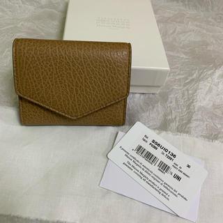 マルタンマルジェラ(Maison Martin Margiela)の20AW 正規未使用品 Maison Margiela 三つ折り エンベロープ(財布)