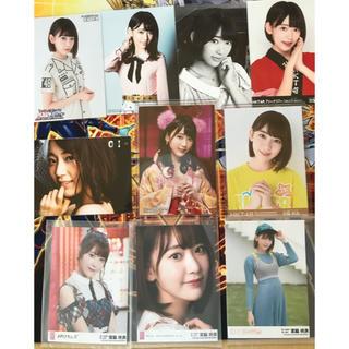 エイチケーティーフォーティーエイト(HKT48)の宮脇咲良 通常盤 DVD特典 劇場盤 生写真10枚 まとめ売り(アイドルグッズ)