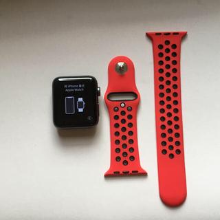 アップル(Apple)のApple  watch 3 cellular GPS (腕時計(デジタル))