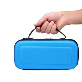 色:ブルー 任天堂スイッチケース ゲーム Nintendo Switch ケース(その他)