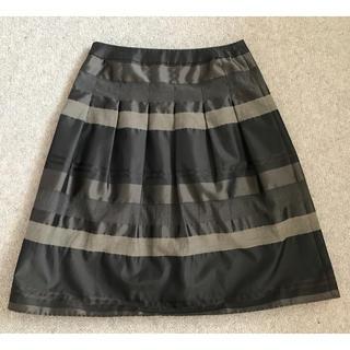 インディヴィ(INDIVI)のINDIVI 38 エレガントなスカート(ひざ丈スカート)