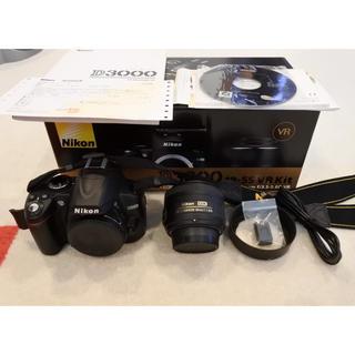 Nikon - Nikon D3000 NIKKORLENS 35mmf/1.8G