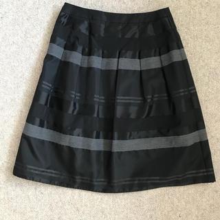 インディヴィ(INDIVI)のINDVI 38 スカート(ひざ丈スカート)