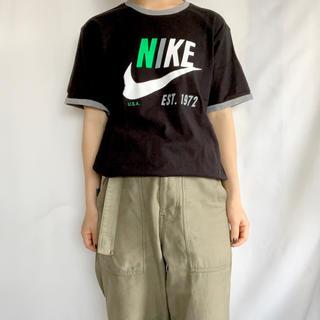 ナイキ(NIKE)の古着 NIKE リンガーTEE(Tシャツ/カットソー(半袖/袖なし))