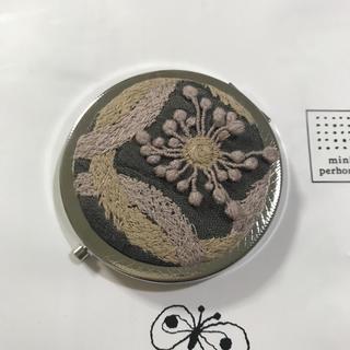 ミナペルホネン(mina perhonen)のミナペルホネン ⭐ring flower⭐ハンドメイド コンパクトミラー(ミラー)