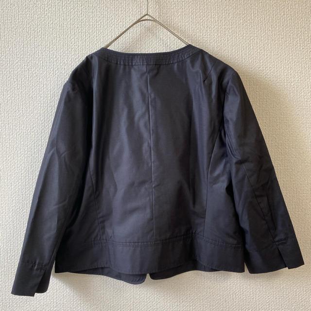 23区(ニジュウサンク)の大きいサイズ 23区 ノーカラージャケット 未使用おまとめ レディースのジャケット/アウター(ノーカラージャケット)の商品写真