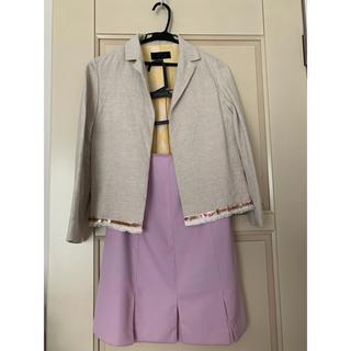 アンタイトル(UNTITLED)のスカート ジャケット(ひざ丈スカート)